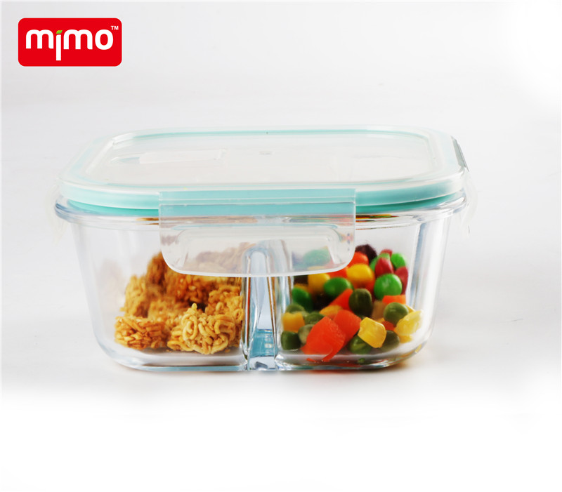 glass food container with air vent lid 3